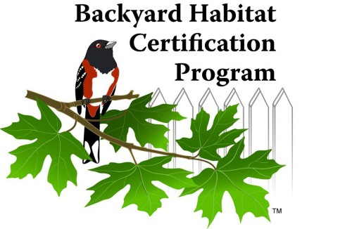 Backyard Habitat Certication logo