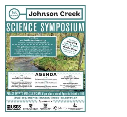 Science Symposium Flyer Graphic